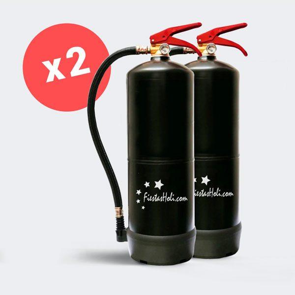 2 Extintores de 5 kilos